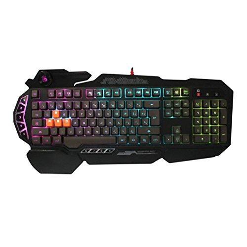 (Bloody Light Strike 4-Infrared Mechanical Switch Gaming Keyboard 9 Programmable Keys)