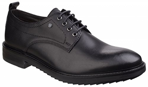 Derby Base London Uomo Scarpe Elba Stringate Black r7IU7Sq
