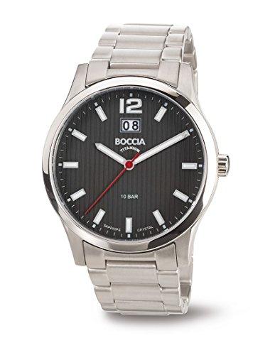 3580-02 Mens Boccia Titanium Watch