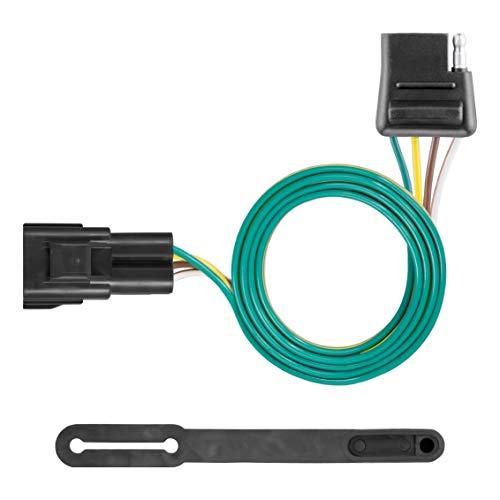 - CURT 56325 Vehicle-Side Custom 4-Pin Trailer Wiring Harness for Select Cadillac XT5, GMC Acadia