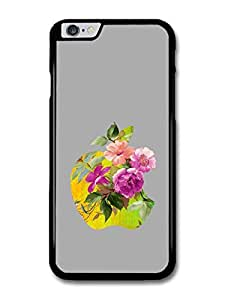 Cool New Apple and Flowers Design case for iPhone 6 Plus by Maris's Diary