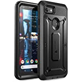 SUPCASE Unicorn Beetle Pro Series Design for Google Pixel 3a Case, Full-Body Rugged Holster Case with Built-in Screen Protector for Google Pixel 3a 2019 Release (Black)