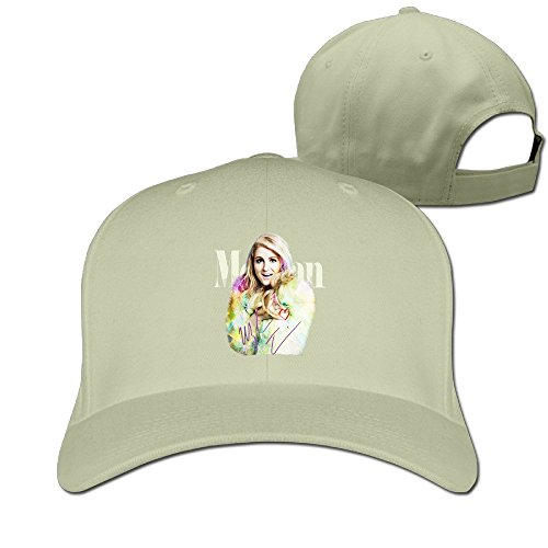 Custom New Design Unisex-Adult Singer Music Poster Summer Cap Hat Natural (Christmas Songs Fast Beat)