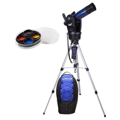 Meade ETX80RT telescopio observador con Goto y Mochila