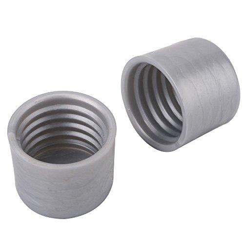 John Sterling CD-0019-PM Closet Pole End Caps, Platinum (Closet Rod End Caps)