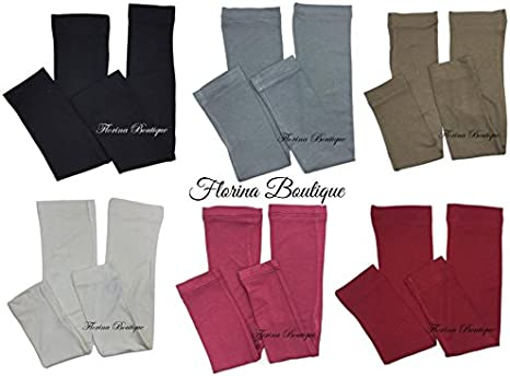 lovely stretchy jersey material muslim hijab Arm sleeves underscarf