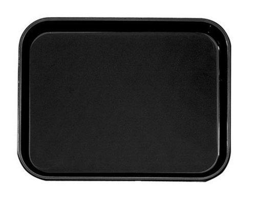 (Cambro Manufacturing PT1216110 Polytread Tray Rectangular Black 12'' x 16'' (1 Each))