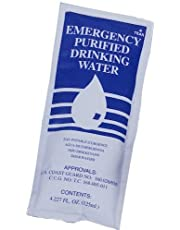 Emergency Water Packets - 3 Day/72 Hour Supply (96 Packets)