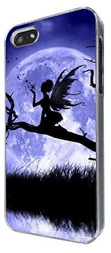 794 - Fairy Falling Stars and Moon Design iphone 5 5S Coque Fashion Trend Case Coque Protection Cover plastique et métal