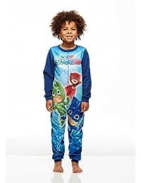 PJ Masks Boys Soft Blanket Sleeper Onesie | Pajama