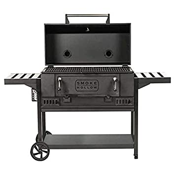 SH Smoke Hollow CG600S Charcoal Grill -Blabk
