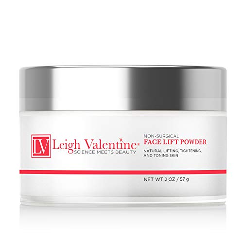 - Leigh Valentine Skin Care - Premium Rejuvenating Skin formula for Fresh and Youthful Skin- Non Surgical Face Lift Powder