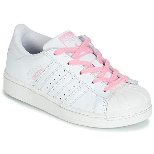 De light ftwr Blanco Zapatillas Niños Pink Pink Ftwr White Adidas Unisex ftwr Gimnasia C White Superstar qx0RcwBv7t