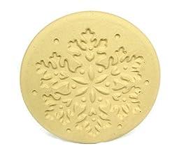 Brown Bag Snowflake Cookie Stamp - Christmas Series