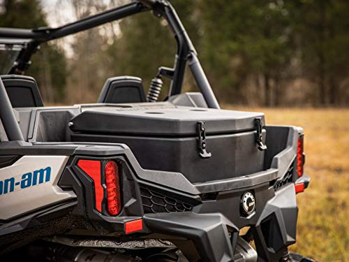 - SuperATV Heavy Duty Insulated Rear Cooler/Cargo Box for Can-Am Maverick Sport 1000 (2019+) - Sealed Lid Keeps Ice In & Mud Out!