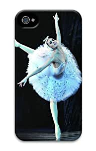 iPhone 5 5s Case, Ballet Dancer 07 Personalized Case for iPhone 5 5s 3D PC Material