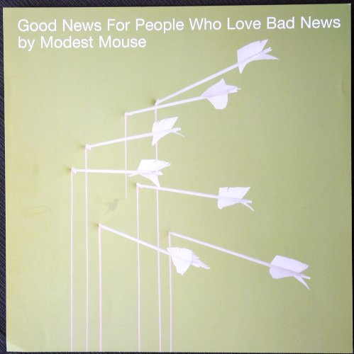 Modest Mouse - Good News for People Who Love Bad News - Rare Advertising Poster 12x12