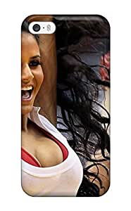 Tpu Fashionable Design Miami Heat Cheerleader Basketball Nba Rugged Case Cover For Iphone 5/5s New