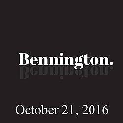 Bennington, Steve Jordan, Chad Zumock, October 21, 2016
