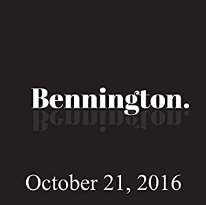 Bennington, Steve Jordan, Chad Zumock, October 21, 2016 Radio/TV Program