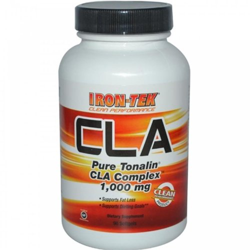 Iron Tek Essential CLA Pure Tonalin Complex 1000 mg, 90-Count by Iron-Tek