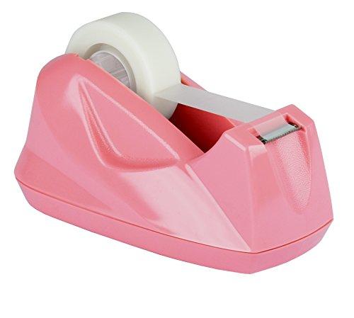 Acrimet Premium Tape Dispenser (Pink Color) by Acrimet