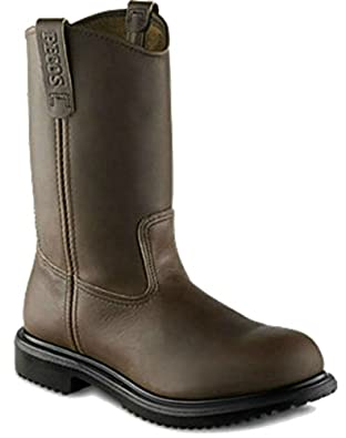 Amazon.com | Red Wing Men's Pull On Work Boot 2231 11-inch Boot ...