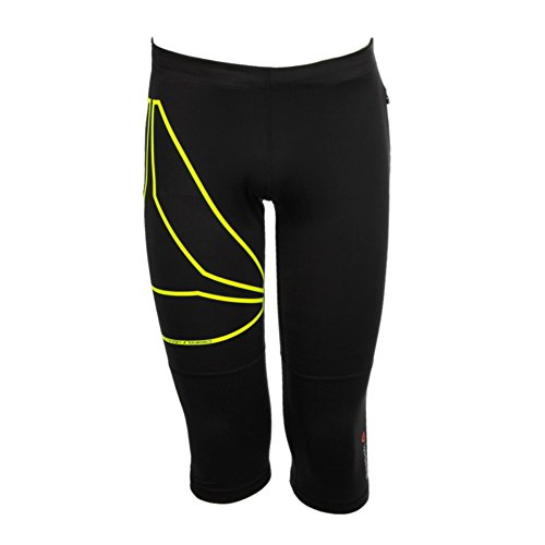 Reebok One Series Running Trackpants – Pantalones capri, Black, S, aj0387 Negro - negro