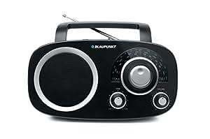 Blaupunkt BSA 8000 - Radio analógica (1200 W, 1.5 V, FM/LW/MW/SO, DC-in jack, 3.5 mm), negro