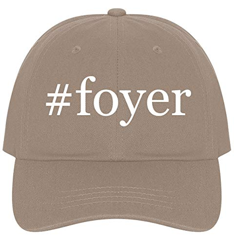 - The Town Butler #Foyer - A Nice Comfortable Adjustable Hashtag Dad Hat Cap, Khaki, One Size