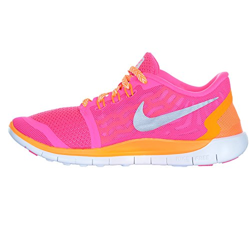 Nike Free 5.0 (GS) Mädchen Sneakers Pink Power