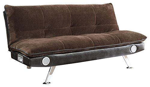 Sofa Bed in Brown