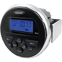 Jensen MS30 3in. AM/FM/USB Compact Waterproof Stereo MS30PS