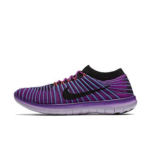 RN Bl da Donna ttl Blk Blu Crmsn Hypr Vlt Corsa Nike Flyknit W Free gmm Motion Scarpe E1E8A6q4