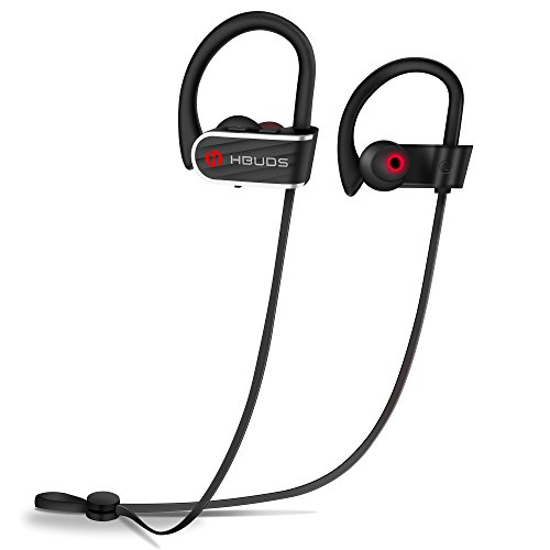 Bluetooth Earphones, Sports Headphones Hbuds H1 IPX7 Sweatproof Bluetooth...