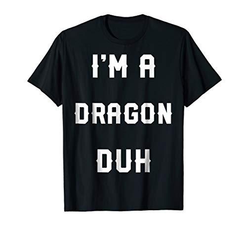 Halloween Easy Dragon Costume Shirts, I'm A Dragon -