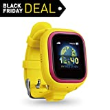 NEW TickTalk 2.0 Touch Screen Kids Smart Watch, GPS Phone watch, Anti Lost GPS tracker with New App, Better Positioning Chip, Things To Do Reminder, Phone/Messaging (SIM CARD INCLUDED) (Yellow)