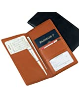 Royce Leather Ticket and Passport Holders