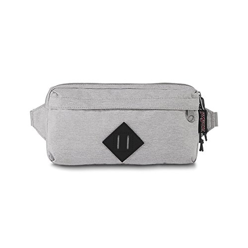 JanSport Waisted Fanny Pack - Grey Heathered Poly - Adjustable by JanSport