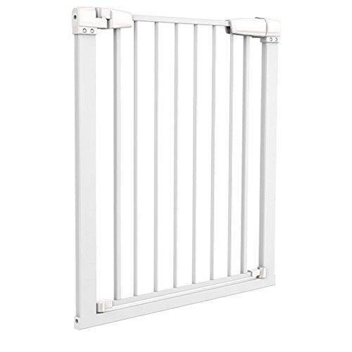 Indoor Pet Gate Multifunctional Metal Baby Barrier - Adjustable Tall-Wide Fence For House Doorway With Lockable Cat Door ( Size : 121-128cm (127 Flap)