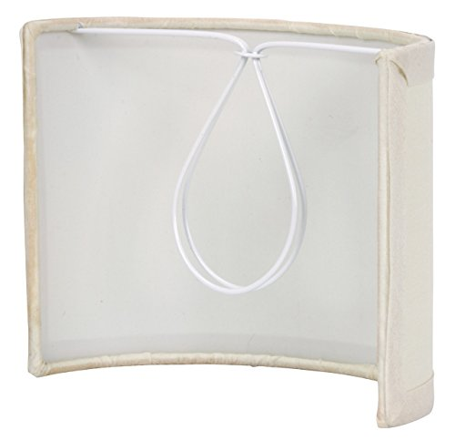 Upgradelights 5 Inch Tall Wall Sconce Clip on Shield Lamp Shade (Chandelier Half Shade) by Upgradelights (Image #1)