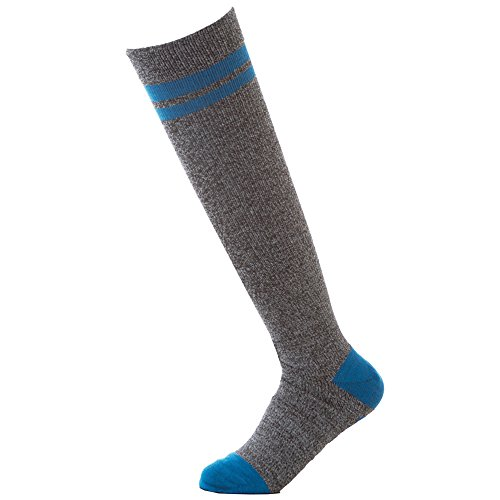 Landau Unisex 8-15 Mmhg Nursing Compression Socks Brilliant Blue Nurses Rock (Nurses Rock)