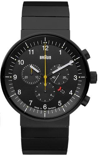 Braun BN0095 - Reloj (Reloj de pulsera, Acero inoxidable, Negro, Acero inoxidable