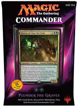MTG Commander 2015 Edition Magic the Gathering - Plunder the Graves Black Green Deck New Sealed ()