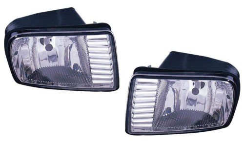 Lincoln LS/Navigator Replacement Fog Light Assembly - 1-Pair ()