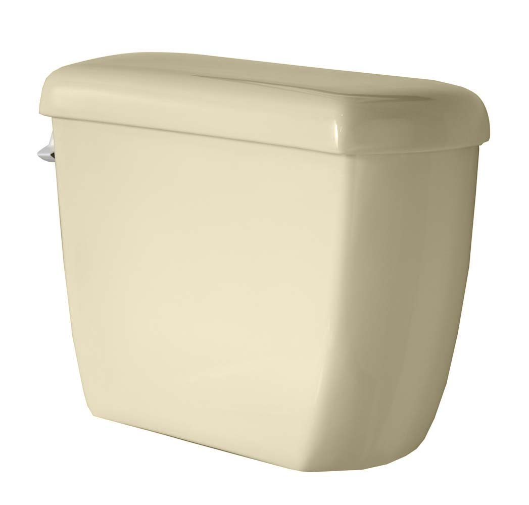 American Standard 4337.016.021 Titan Pro 12-Inch Rough-In Right Height Elongated Toilet Tank, Bone (Tank Only)