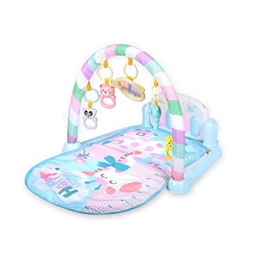Tivolii Juego para bebés Alfombra para Gatear Recién Nacidos Bebé Actividad de Juego Suave Patada Sentado Sentado Estera...