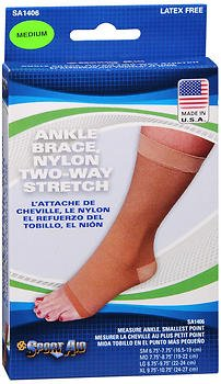 Sport Aid Ankle Brace Medium SA1406 - 1 brace, Pack of 6 by SportAid