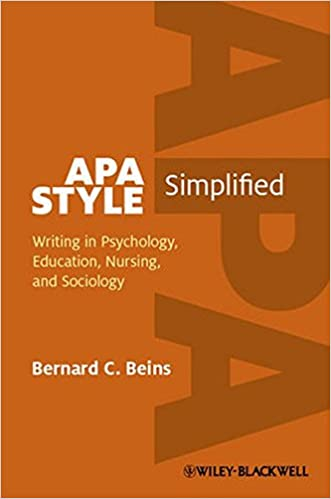 Resultado de imagem para APA Style simplified: Writing in psychology, education, nursing and sociology