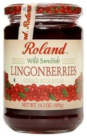 Roland Lingonberries, 14.3 oz